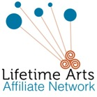 Lifetime Arts Affiliate Network logo