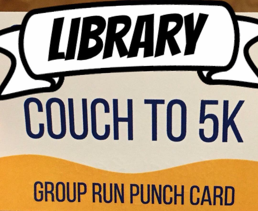 Library Couch to 5k flyer