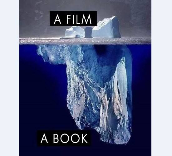 Film vs Book Poster