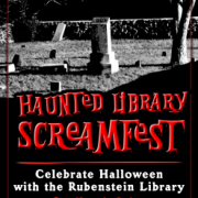 Haunted Library Screamfest, Mark Zupan designer