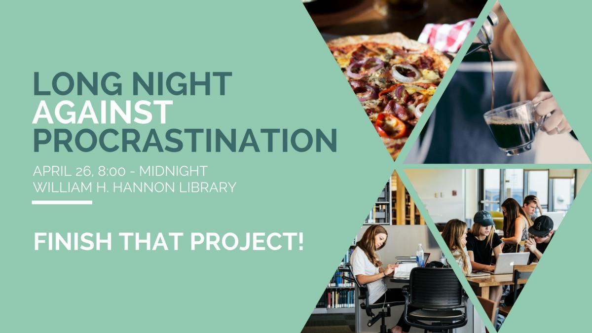 Long Night Against Procrastination promo