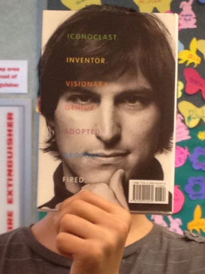 A teen becomes Steve Jobs in this bookface