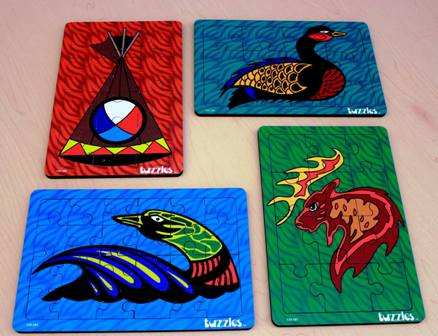 Indigenous imagery puzzles