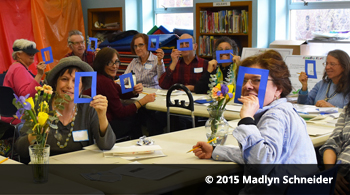Creative Aging group at Forest Hills