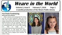 The cover of an issue of Weare in the World