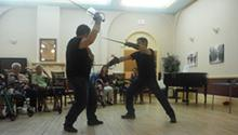 Sword fight demo