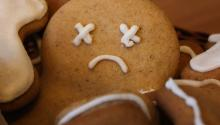 sad gingerbread man