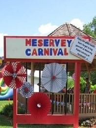 Sign for the Meservey Carnival