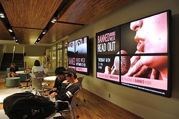 Bert's Study Lounge at the University of Michigan