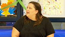 Jennifer Brown visits teens at the Fort Reno Drug Rehab Center in El Reno, Oklahoma.
