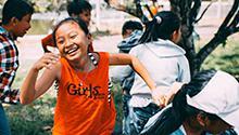 Children running (Photo by MI PHAM on Unsplash)