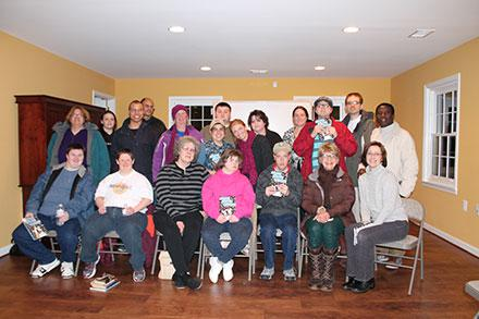 Loudoun County Public Library's Next Chapter Book Club participants