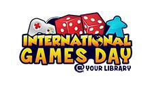 International Games Day @ your library logo