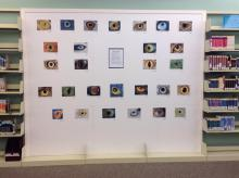 An art display at the Teen Art Show