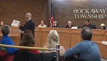 Murder trial reenactment