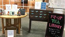 Pop-up Tea Library
