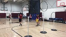 Quidditch Clinic participants