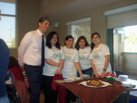 Nowruz Celebration volunteers