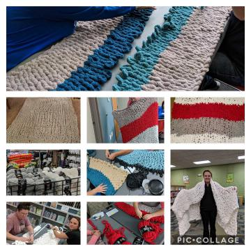 Collage of blankets