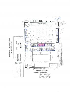 Layout of the convention
