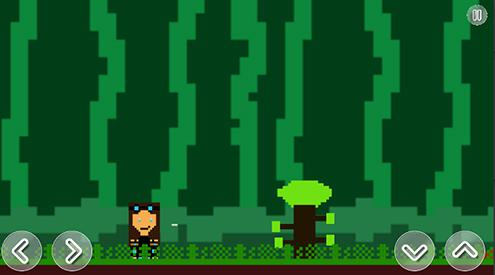 One finished game made by a student.