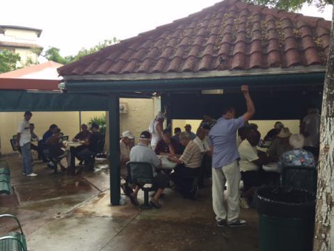The Little Havana Tour visited Domino Park.