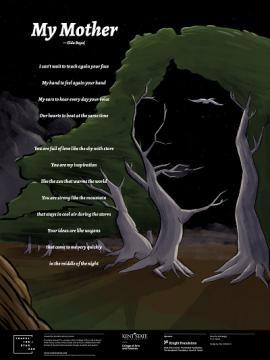 """Script of """"My Mother"""" poem by Elda Begaj"""
