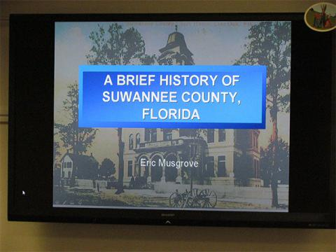 """A Brief History of Suwannee County, Florida"""