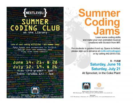 Summer Coding Club