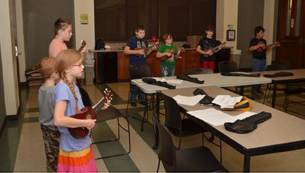 Since the tween ukulele course was a success, the Livingston Parish Library now offers a ukulele class for adults.