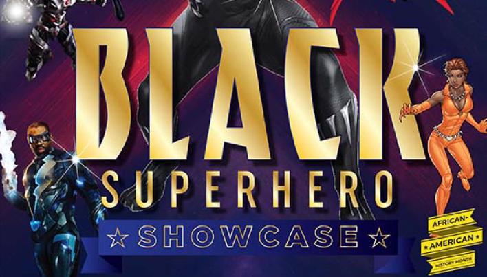 Black Superhero Showcase